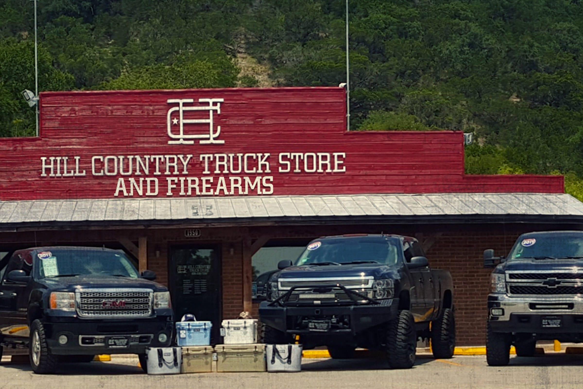 San Antonio Design Hill Country Truck Store Graphic